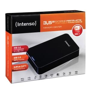 Ekstern harddisk Intenso 3,5 USB 3.0 3TB