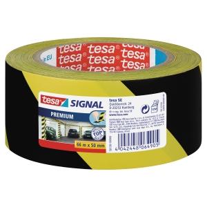 Tape Tesa 58130 signal premium gul/sort
