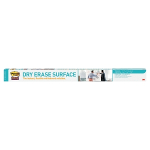 Whiteboardfolie 3M Post-it Super Sticky Dry Erase, 121,9 x 182,9 cm