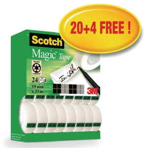 PK24 SCOTCH MAGIC 810 19MMX33M