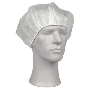 Operasjonslue Abena onesize 60cm hvit, pakke à 100 stk