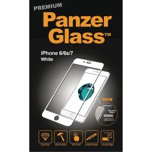 Beskyttelsesglas Panzerglass Premium iPhone 6/6S/7/8 hvit