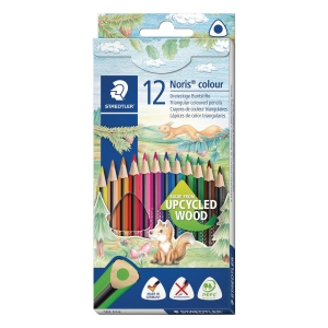PK12 NORIS 187 TRIANGULAR COLOR PENCILS