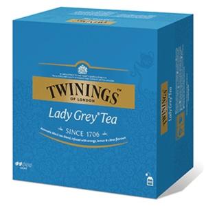Te Twinings Lady Grey, pakke à 100 poser