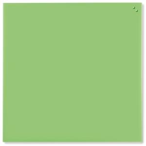 Glasstavle NAGA, 100 x 100 cm,grønn