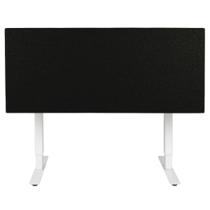 SONEO 30 OFFICE SCREEN TABLE 160CM BLACK