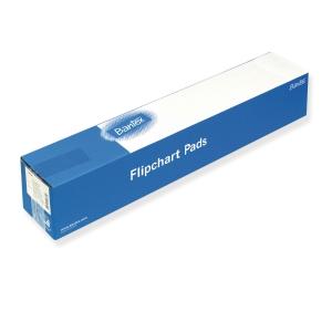 Flippoverpapir Bantex, 68 x 93 cm 70 g, pakke à 5 stk.