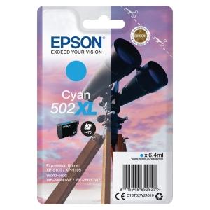 Blekkpatron Epson enkeltpakket 502Xl cyan