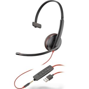 hodetelefon PLANTRONICS C3215 BLACKWIRE mono