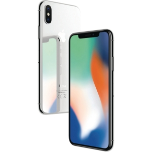 smarttelefon APPLE iPhone X 64 GB sølv