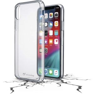 Deksel Cellularline Clear Duo IPhone X/XS
