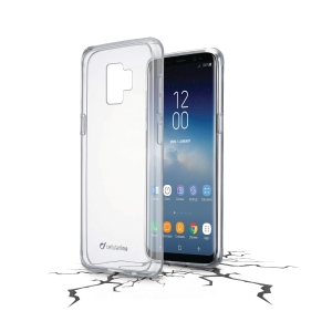Deksel Cellularline Clear Duo Samsung Galaxy S9