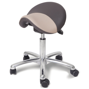 ERGONOMIC SADDLE LUX W/ALU VIP