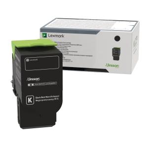 Lasertoner Lexmark 78C2XKE, 8500 sider, sort