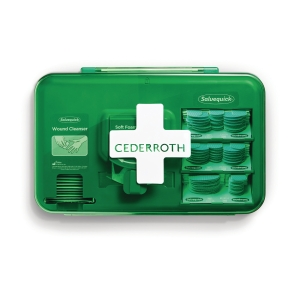 Plasterautomat Cederroth Wound Care Dispenser, blå