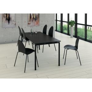 Sett med kantinebord og seks stoler, Fumac