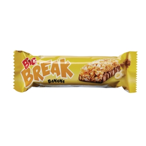 Müslibar Big Break banan, 40 g, pakke à 24 stk.