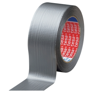 TAPE EXTRA POWER UNIVERSAL TESA 50 MM X 25 M SØLV