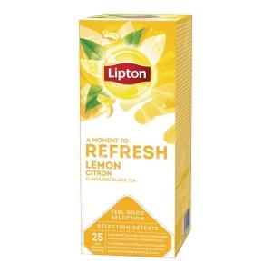 Te Lipton poser sitron pk25