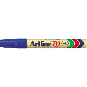 Permanent merkepenn Artline 70, rund spiss, blå