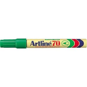 Permanent merkepenn Artline 70, rund spiss, grønn