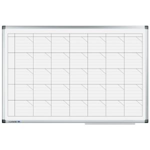 Whiteboardtavle Legamaster ukeplan, 60 x 90 cm