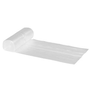 Plastpose 60x60 cm klar rull á 50 stk plastposer