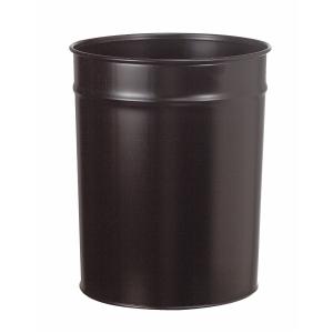 Papirkurv Twinco, metall, 20 liter, sort