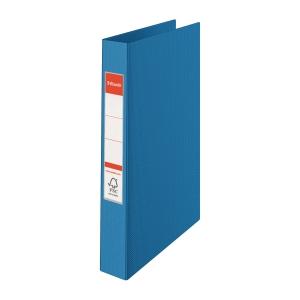 Ringperm Esselte, A4, 2 ringer, blå
