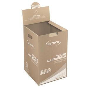 Returkasse Lyreco lasertoner
