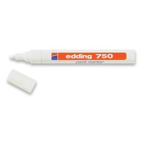 Merkepenn Edding 750, hvit