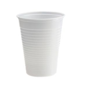 Plastbeger Duni kaffekopp 21cl hvit ps100