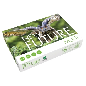 Multifunksjonspapir New Future Multi A4 100 g, pakke à 500 ark