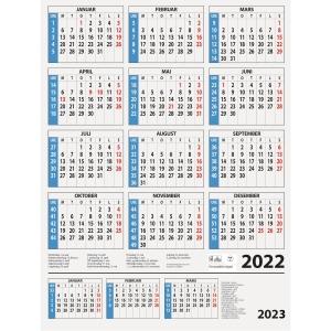 Kalendere 7.Sans Årskalender 59 x 80 cm