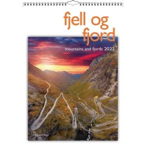 Kalendere 7.Sans Fjell Og Fjord bildealmanakk 29 x 41,5 cm