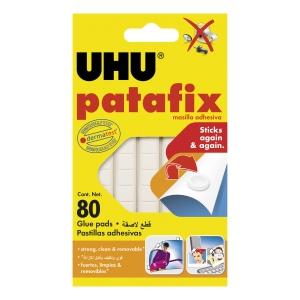 HEFTEMASSE UHU PATAFIX PAKKE À 80 STK.