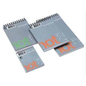 Notatblokk Bantex Wire-O, 105 x 210 mm, linjert, 100 ark à 70 g