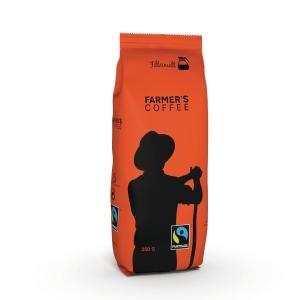 Kaffe Farmers Coffee filtermalt Fairtrade 250g