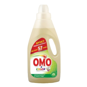 Vaskemiddel Omo professional flytende color 2l