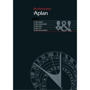 KALENDERE APLAN POCKET ALMANAKK BLANKETTPAKKE PK. À 80 ASS. ARK