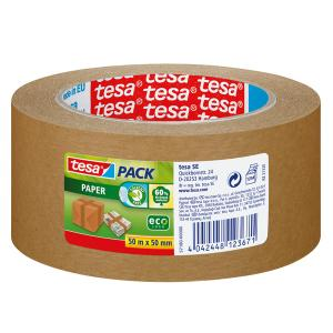 EMBALLASJETAPE TESA 57180 PAPIR TAPE 50 MM X 50 M