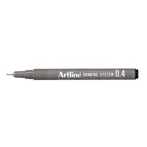 DRAWING PEN ARTLINE EK234 0.4MM SORT
