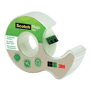 Scotch® tapedispenser C38, inkl 1 rull Scotch® Magic Tape 900