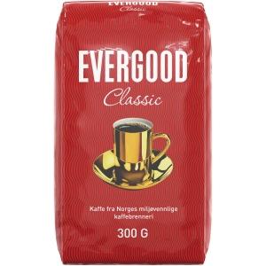 Filterkaffe Evergood Classic, 300 g