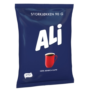 Filterkaffe Ali, kartong à 50 poser à 90 g