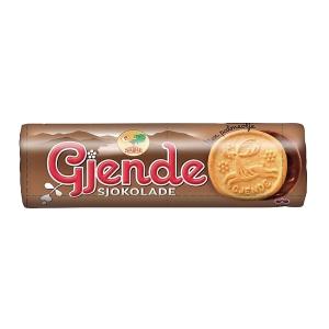 Kjeks m/sjokolade Gjende 183 g