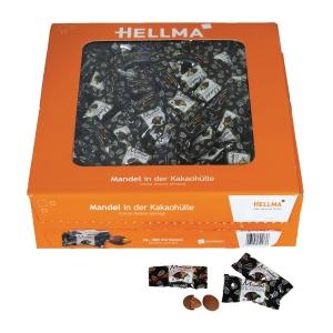 Sjokolademandler Hellma, pakke à 380 stk.