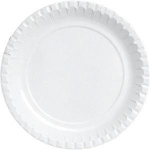 Papptallerken Duni plastbelagt 18 cm