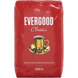 Kaffe filtermalt Evergood 1 kg