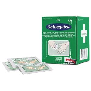 Sårrenseserviett Cederroth Salvequick 3237, eske á 20 stk